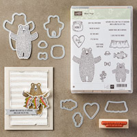 Bear Hugs Wood-Mount Bundle