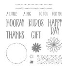 Perfectly Wrapped Photopolymer Stamp Set