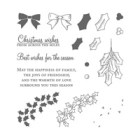 Holly Berry Happiness Photopolymer Stamp Set