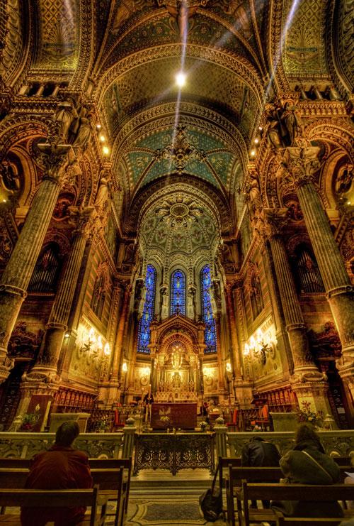 Christmas Churches France