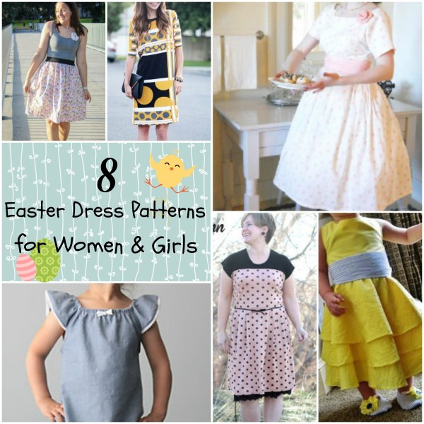 8 Easter Dress Patterns Women And Girls - Seams