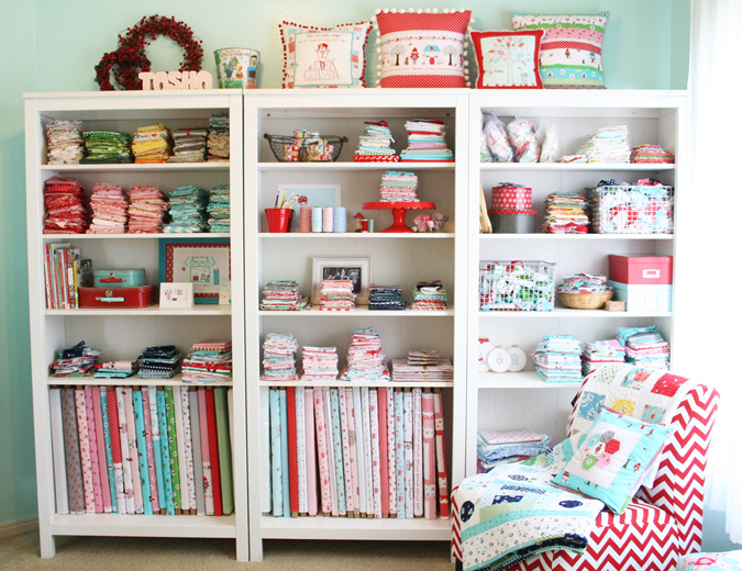 Seworganized Inspiration For Your Sewing Space Seams And Scissors