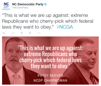 NC Democratic Party @NCDemParty