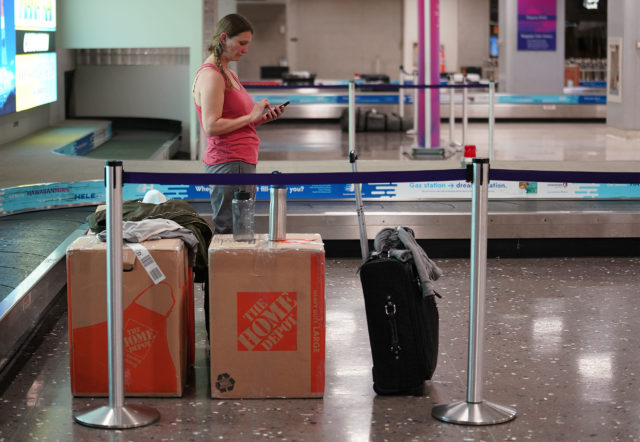Amy Cartwright from Marin County just arrived at Daniel K. Inouye International Airport under a 14-day quarantine due to Coronavirus concerns.