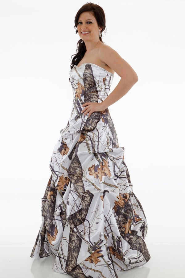 Camo Dress Occasion Camouflage Prom Wedding