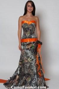 Camo And Orange Bridesmaid Dresses | www.imgkid.com - The ...