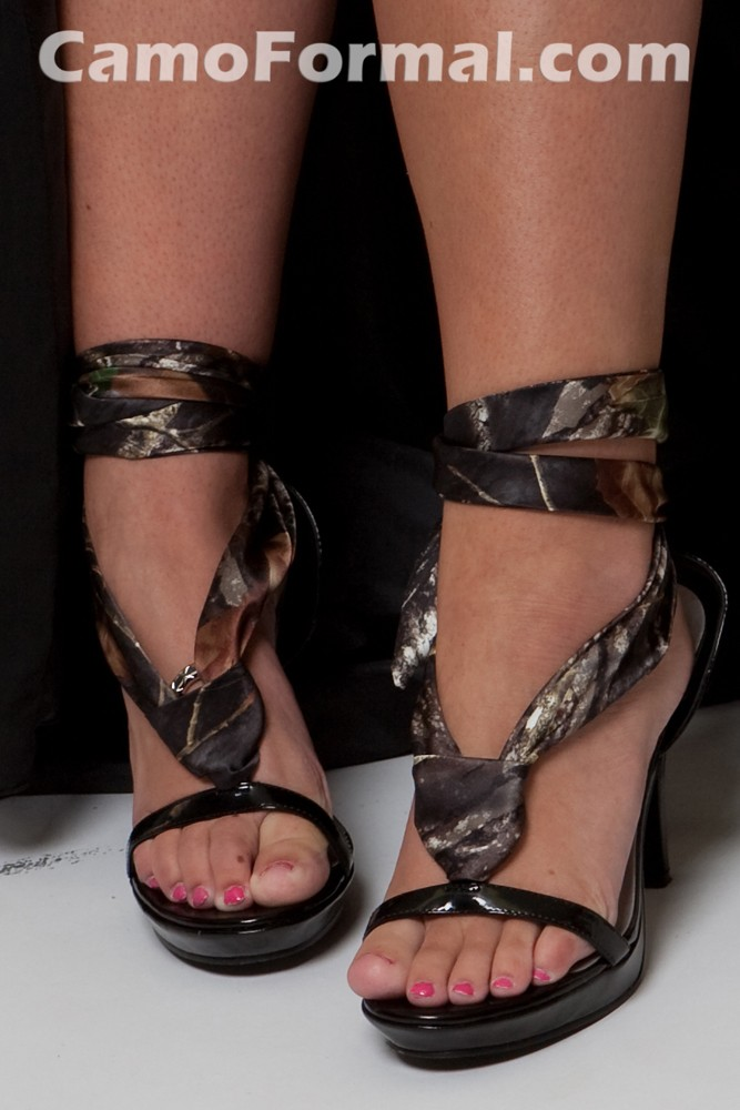 Variety of Shoes and Purses Camouflage Prom Wedding Homecoming Formals