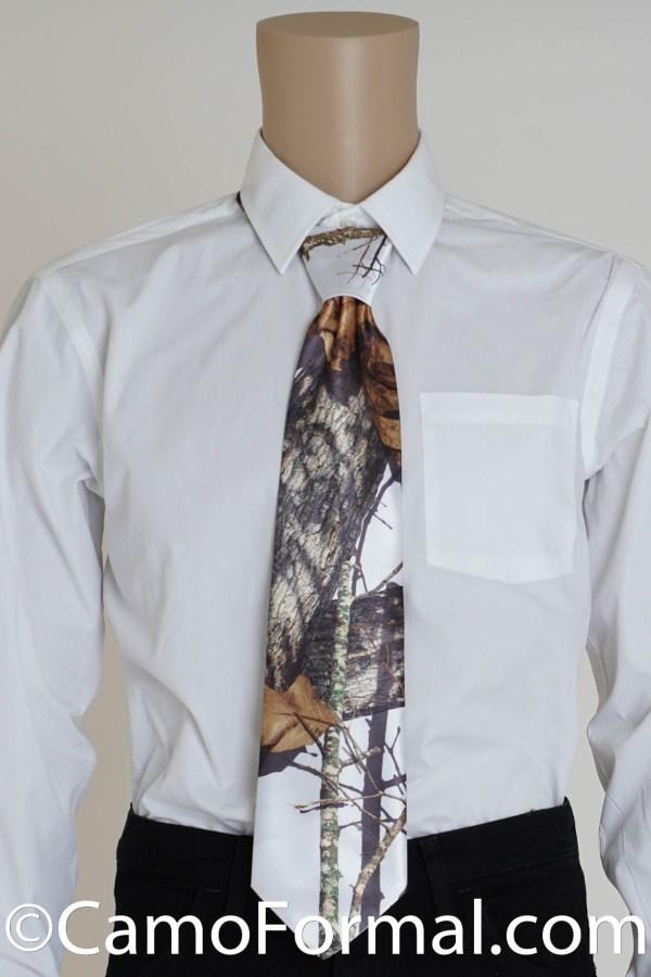 Men' Camouflage Tie Prom Wedding Homecoming