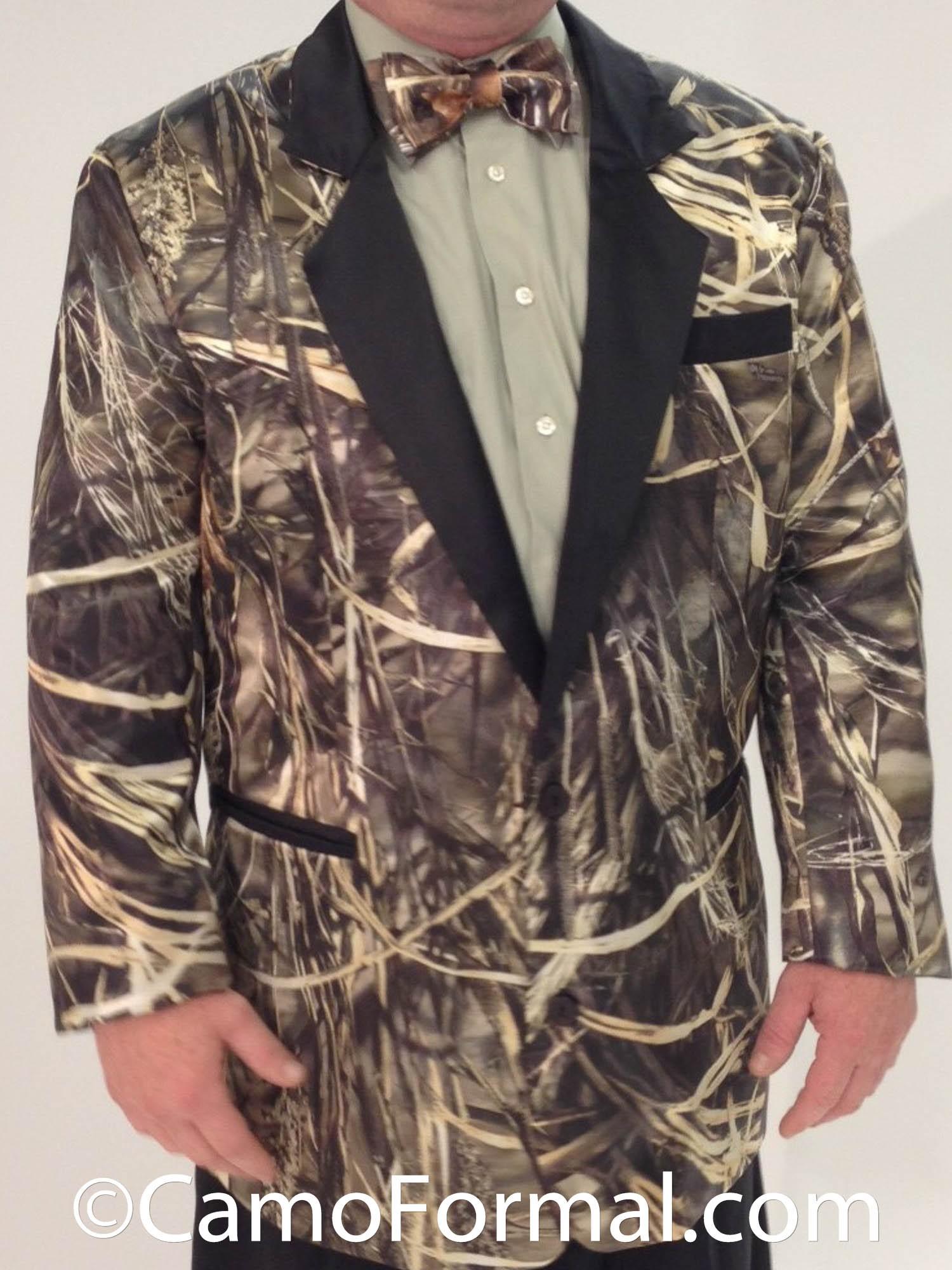 Camo Tuxedo Blazer Jacket Camouflage Prom Wedding Homecoming Formals