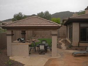 arizona hardscape - patio design