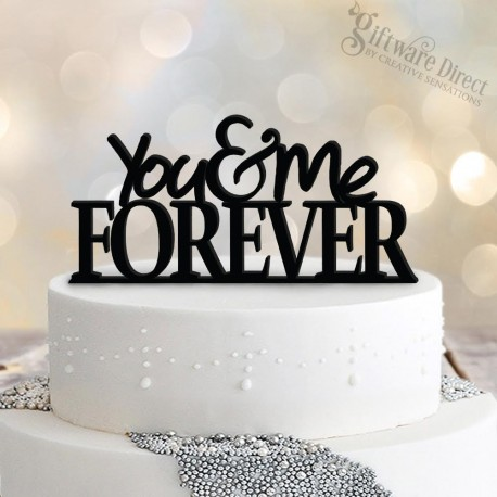 You Amp Me Forever Acrylic Cake Topper Wedding Decoration