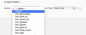 Formidable Pro Download Create Post Field Mapping