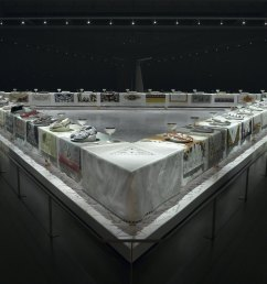 the dinner party by judy chicago [ 1536 x 1132 Pixel ]