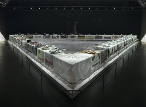 small resolution of the dinner party by judy chicago