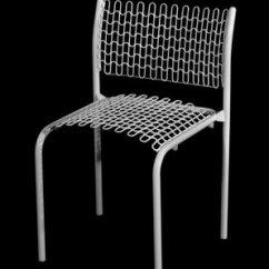 David Rowland Metal Chair On Brooklyn Museum American Born 1924 Em Sof Tech