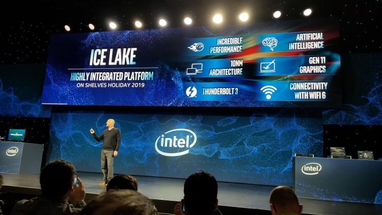 Intel zeigt der Öffentlichkeit 10-nm-Ice-Lake-Prozessoren