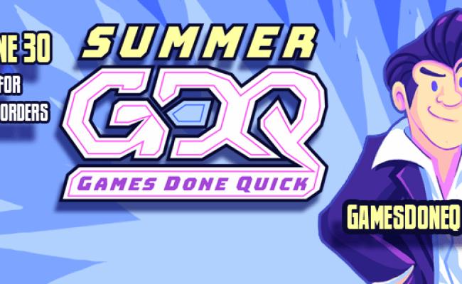 Summer Games Done Quick 2019 Day 4 Schedule Shacknews
