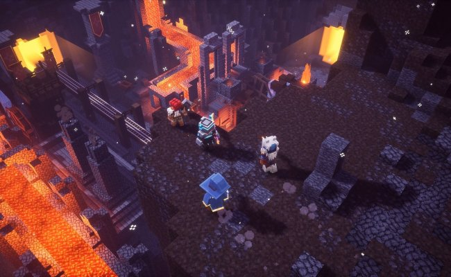 Minecraft Dungeons Opening Cinematic Debuts At Minecon