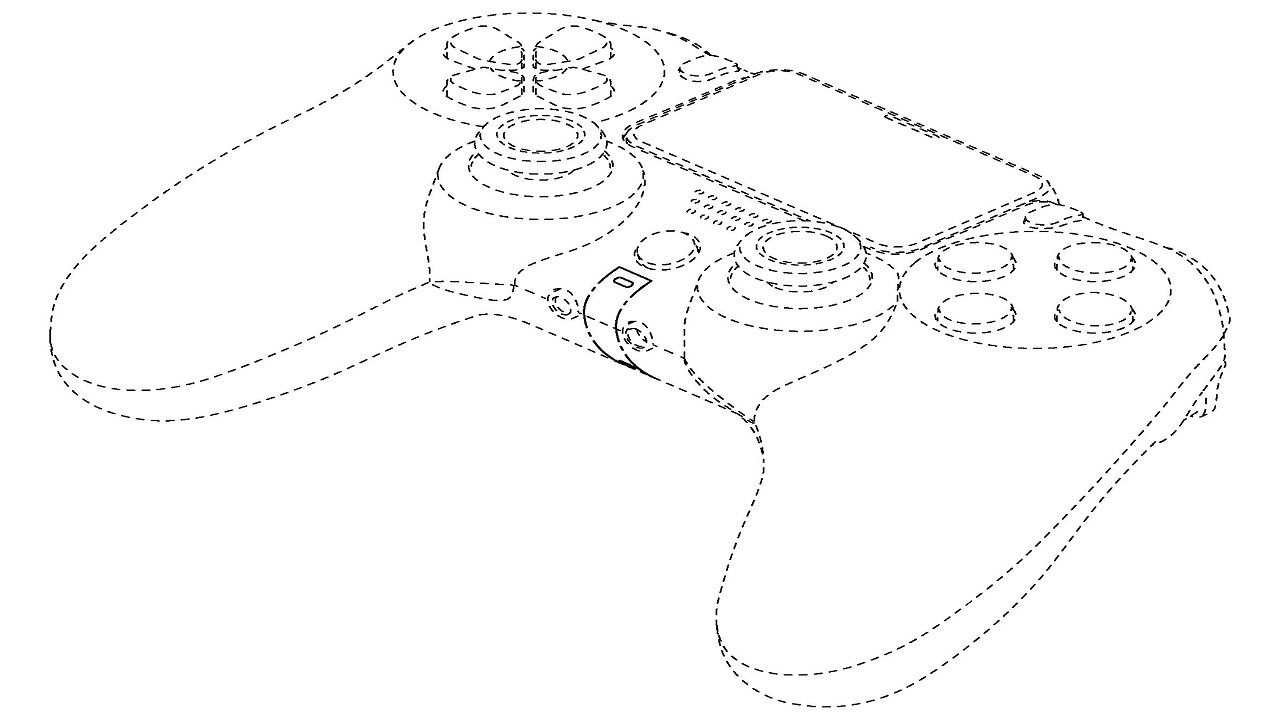 PlayStation 5 controller possibly revealed in new Sony