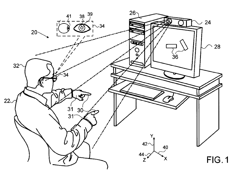 Apple patent opens door for eye and hand gesture control
