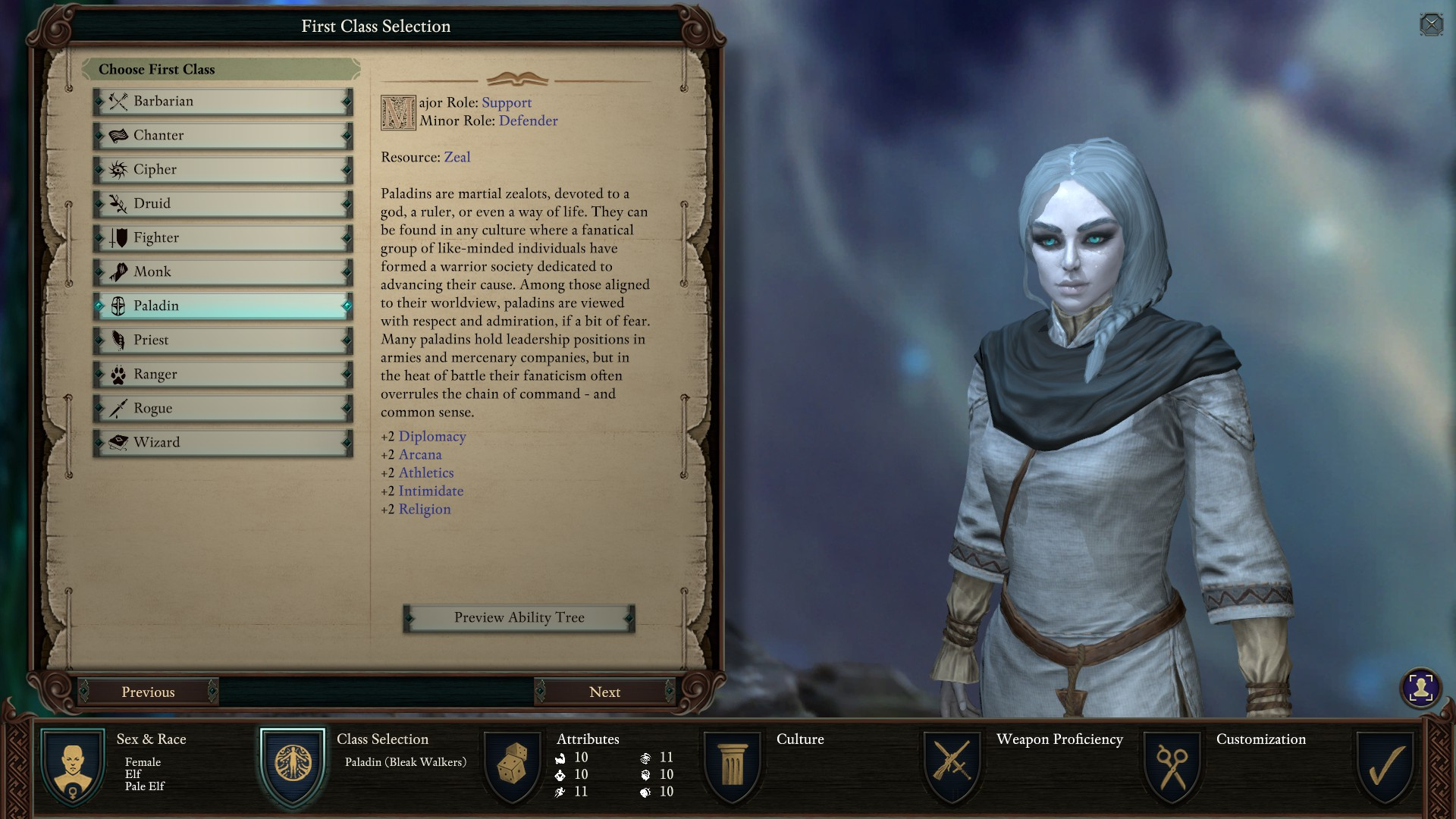 Character Creation Guide