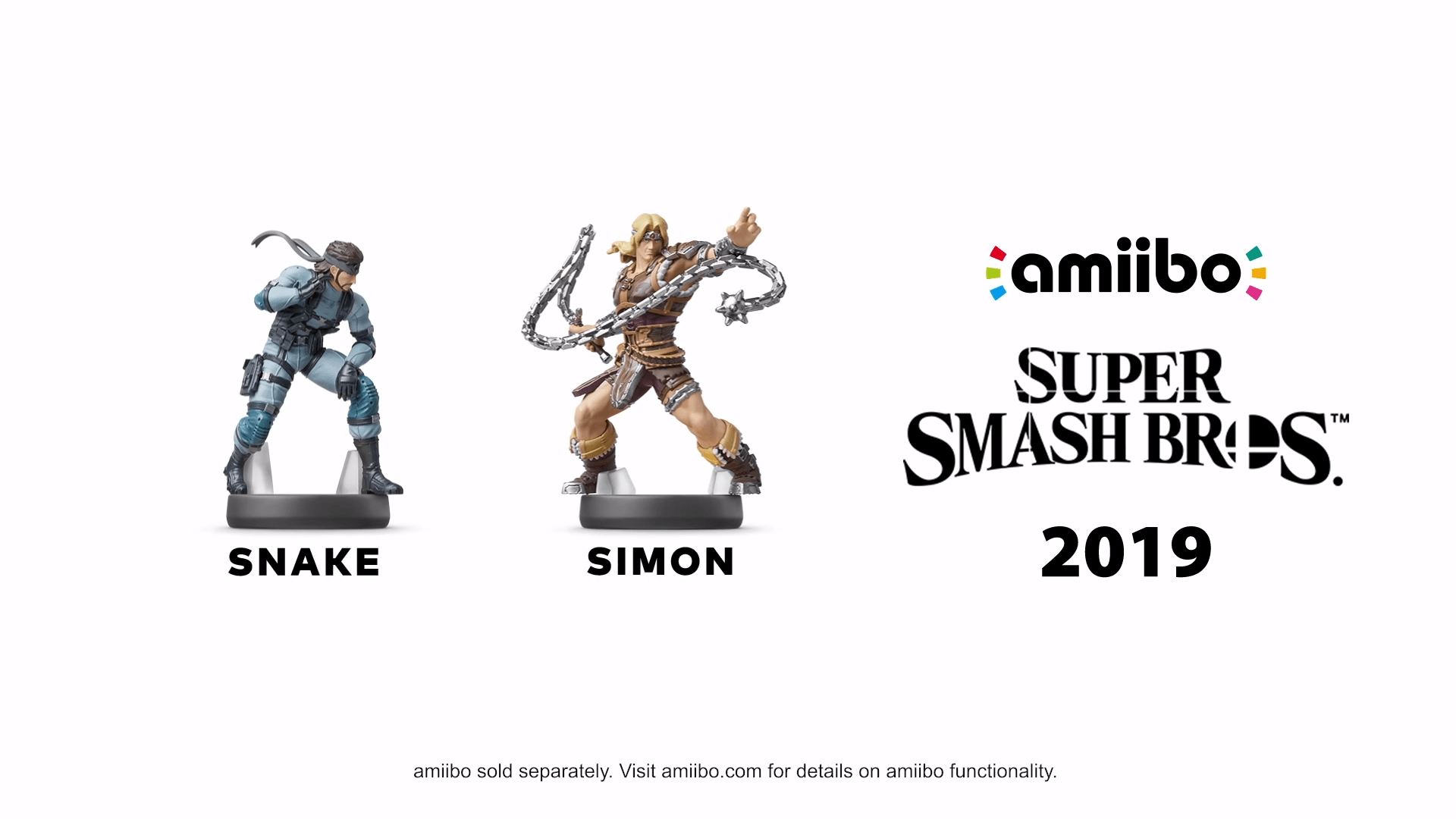Snake Simon Pokemon Trainer Amiibo Release Window Issued