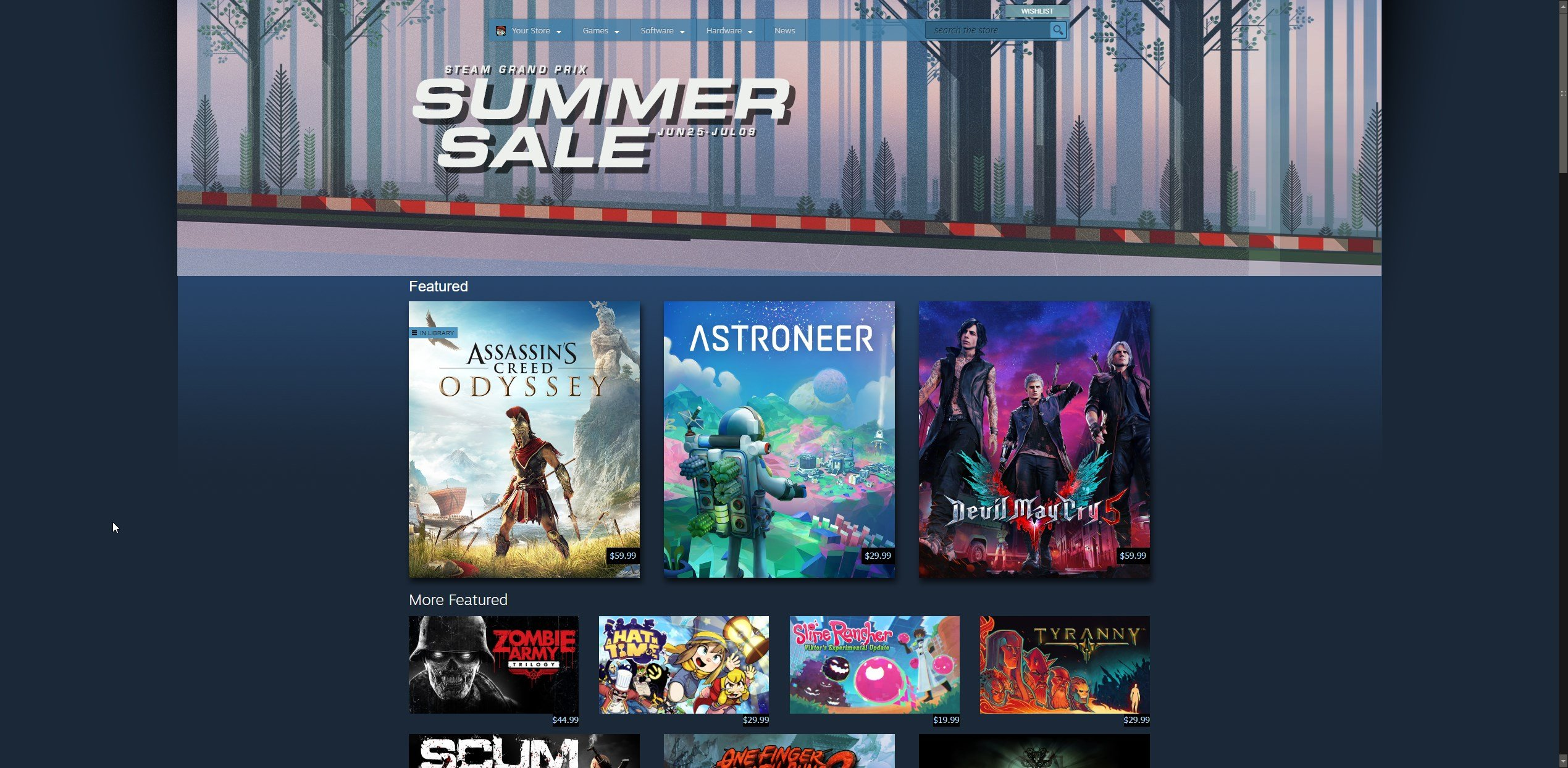 Steam Summer Sale 2019 start and end times   Shacknews