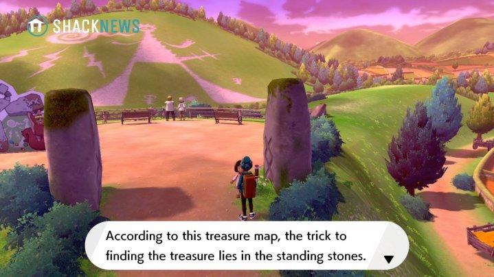Acertijo de piedra Turffield - ubicación de inicio