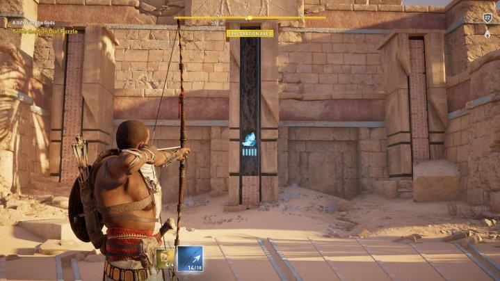 Assassin's Creed Origins - Rompecabezas de reloj de sol