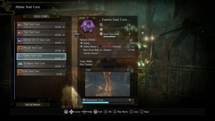 Nioh 2 Soul Core Enenra