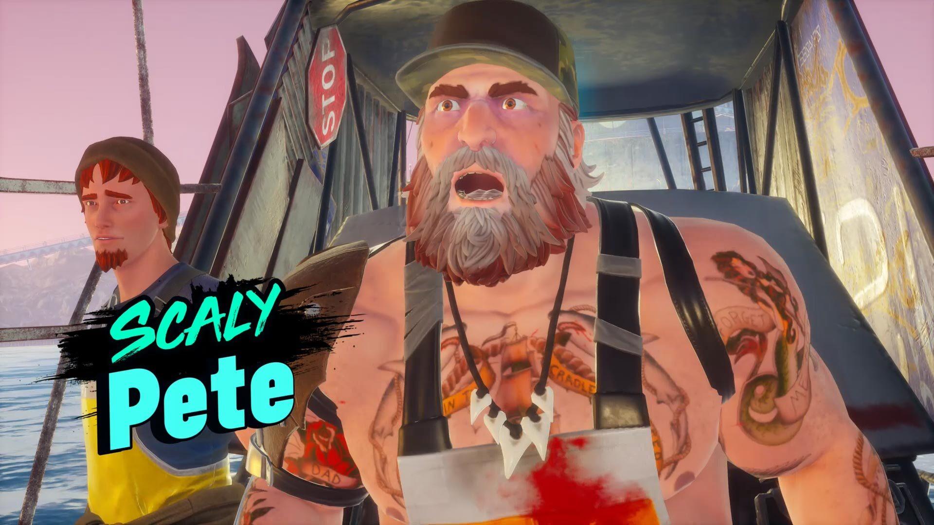 Gardez un œil sur le vieux Scaly Pete dans Maneater ou vous pourriez vous retrouver du mauvais côté d'une lance!