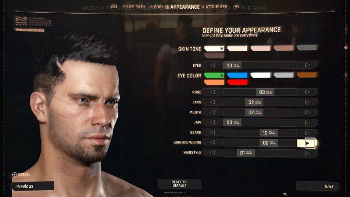 ¿Puedes personalizar tus genitales en Cyberpunk 2077?
