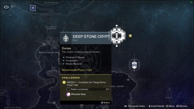 destiny 2 deep stone crypt raid