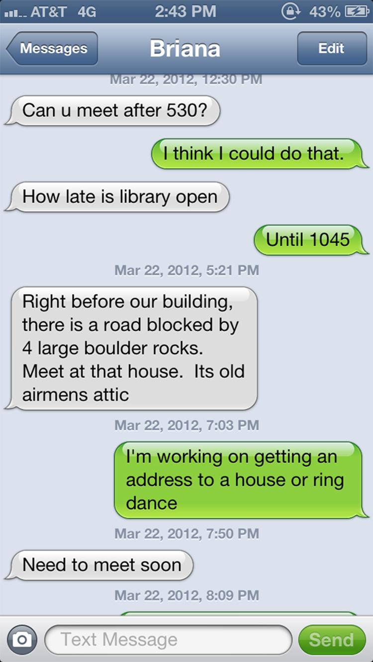 afa text boulder house