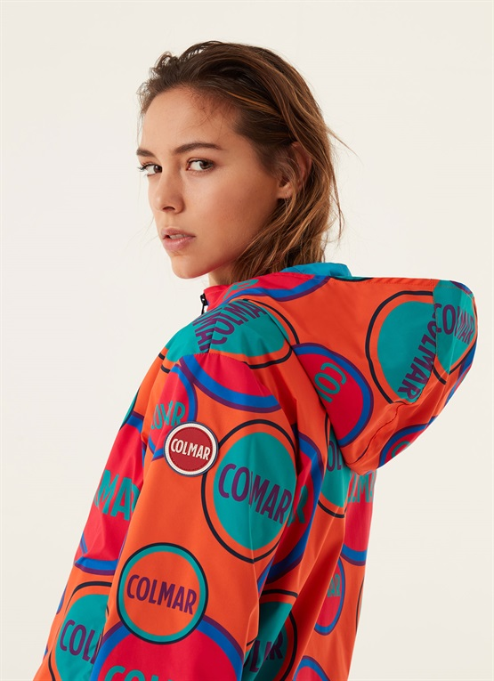 giacca originals by originals stampa allover