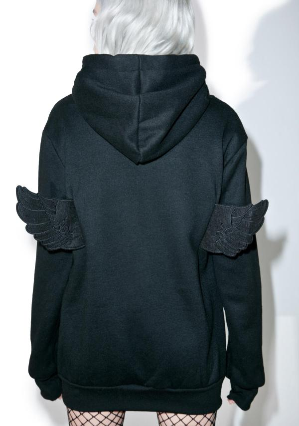 Angel Wings Hoodie Dolls Kill
