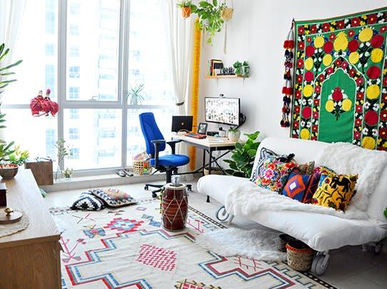 Boho Inspired Room