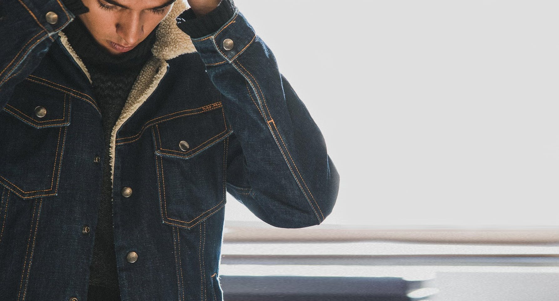 Nudie Jeans, Lenny Denim Jacket, denim jacket, nudie jeans, jean jacket
