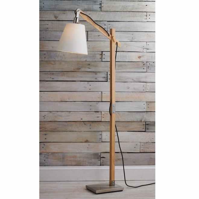 Modern Rustic Arc Floor Lamp