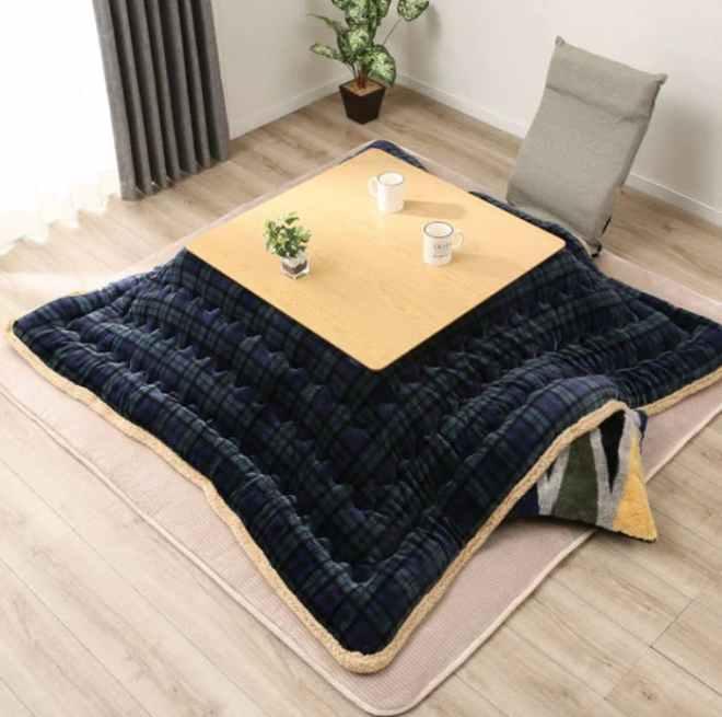 Luxury Kotatsu Patchwork Blanket/Table Cover