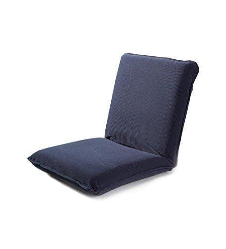 tatami chair, blue chair, floor chair