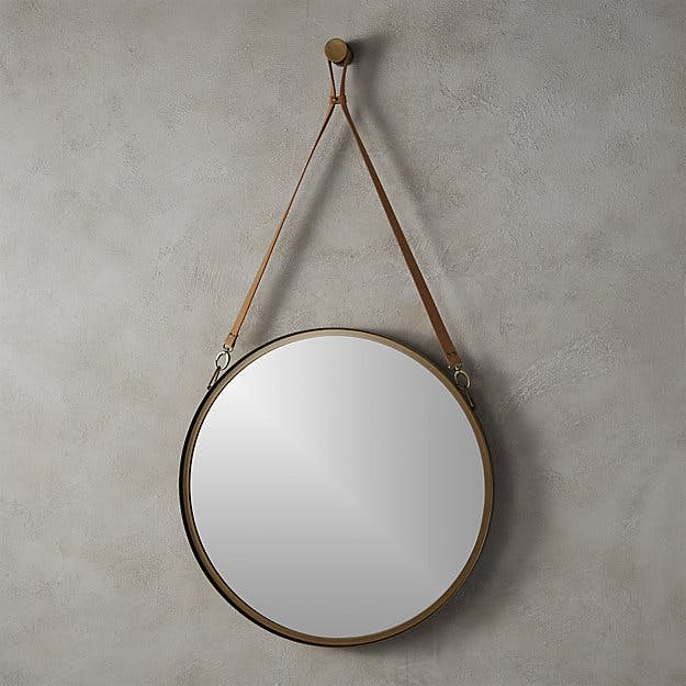 White Marble Wall Mirror