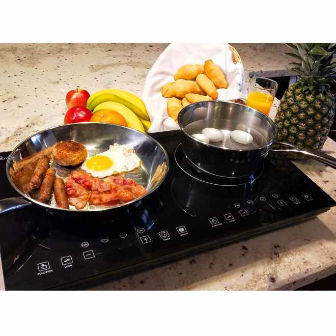 Double Digital Induction Cooktop