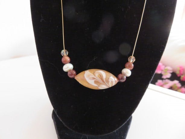 gold, necklace, jewelry, aftcra