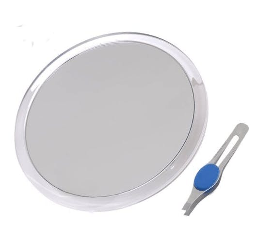 Large Suction Cup Magnifying Mirror