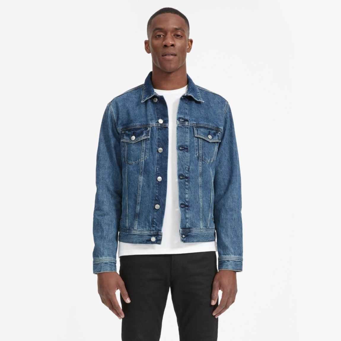 everlane, everlane jeans, everlane denim, japanese denim, denim jacket, jean jacket, trucker jacket, denimblog, denim blog