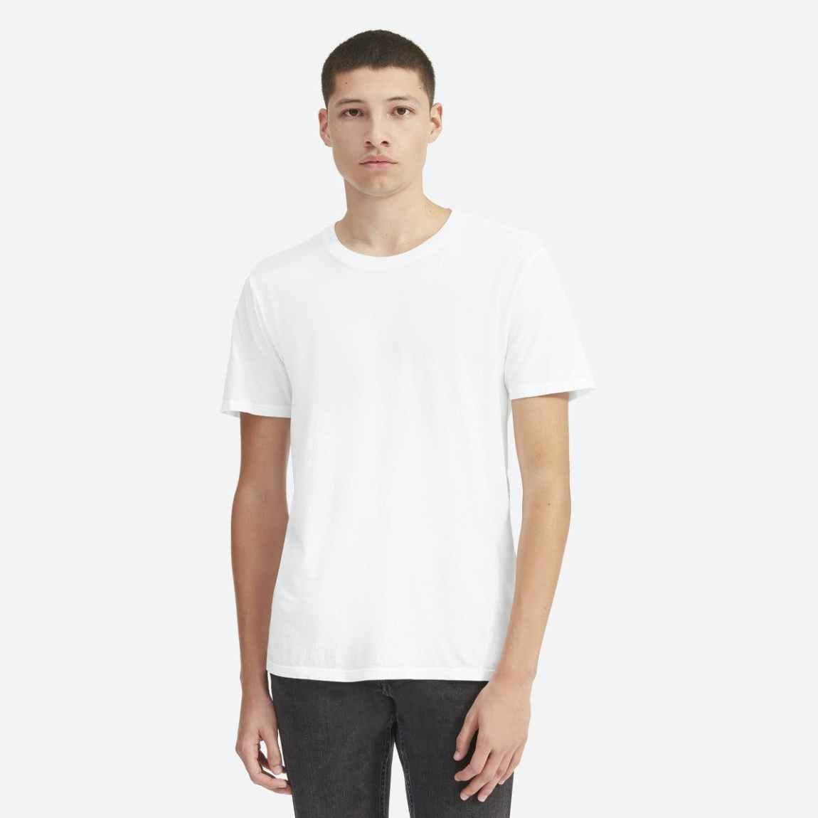 everlane, everlane t shirt, t shirt, white t shirt, denimblog, denim blog