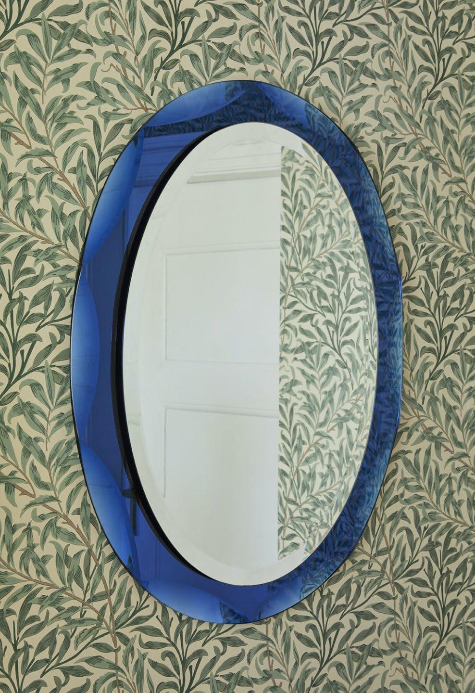 Italian Style Blue Mirror