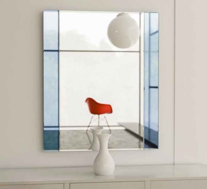 Art Deco Colorful Mirror