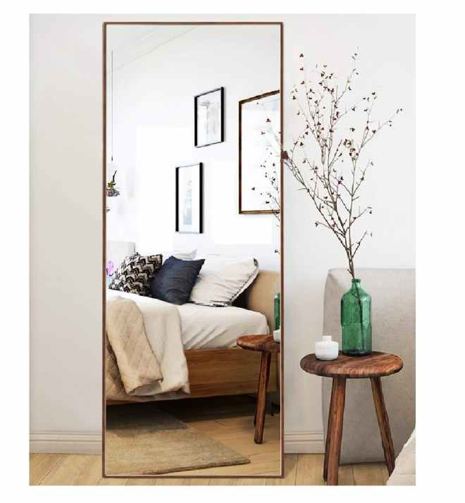 Thin Frame Floor Mirror